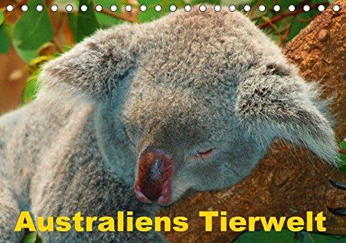 9783665069117: Australiens Tierwelt (Tischkalender 2017 DIN A5 quer): Die interessante und beeindruckende Fauna Australiens (Monatskalender, 14 Seiten )