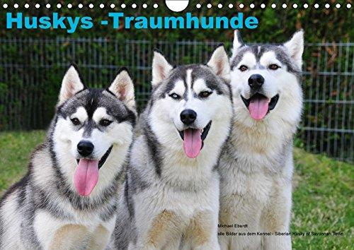 9783665073022: Huskys - Traumhunde (Wandkalender 2017 DIN A4 quer): Der Siberian Husky, gezeigt von seiner schönsten Seite (Monatskalender, 14 Seiten )