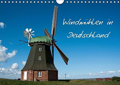 9783665079420: Windmühlen in Deutschland (Wandkalender 2017 DIN A4 quer): Historische Windmühlen im Norden Deutschlands. (Monatskalender, 14 Seiten )