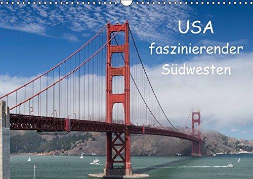 9783665081744: USA - faszinierender Südwesten / CH-Version (Wandkalender 2017 DIN A3 quer)