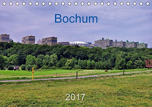 9783665083465: Bochum / Geburtstagskalender (Tischkalender 2017 DIN A5 quer): Bochum