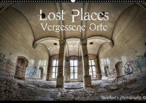 9783665091019: Lost Places, Vergessene Orte / CH-Version (Wandkalender 2017 DIN A2 quer): Lost Places, Vergessene Orte und die Spuren der Zeit (Monatskalender, 14 Seiten )