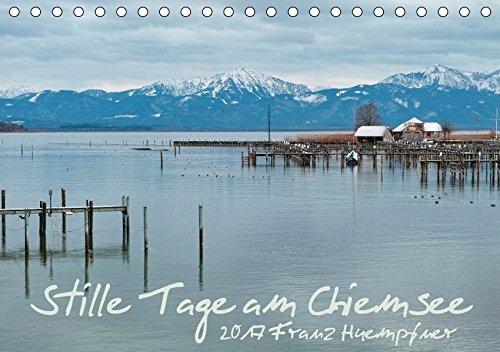 9783665098018: Stille Tage am Chiemsee (Tischkalender 2017 DIN A5 quer): Zur Ruhe finden in den stillen Tagen am Chiemsee (Monatskalender, 14 Seiten )