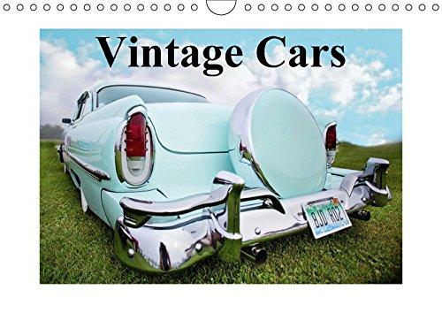 9783665102494: Vintage Cars (Wandkalender 2017 DIN A4 quer): Nostalgische Schätze aus der Vergangenheit (Monatskalender, 14 Seiten )