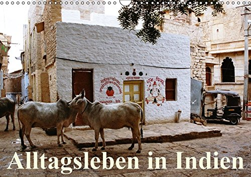 9783665105341: Alltagsleben in Indien (Wandkalender 2017 DIN A3 quer): Szenen aus dem indischen Alltag, abseits der touristischen Höhepunkte (Monatskalender, 14 Seiten )