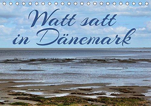 9783665109073: Watt satt in Dänemark (Tischkalender 2017 DIN A5 quer): Impressionen aus dem dänischen Wattenmeer in 13 Bildern (Monatskalender, 14 Seiten )