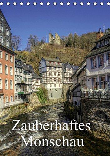 9783665110819: Zauberhaftes Monschau/Geburtstagskalender (Tischkalender 2017 DIN A5 hoch): Eine Perle in der Eifel - Monschau (Planer, 14 Seiten)