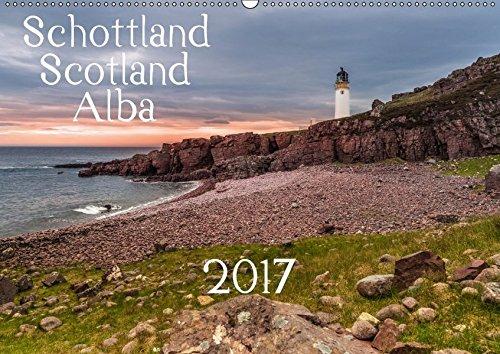 9783665122843: Schottland - Scotland - Alba (Wandkalender 2017 DIN A2 quer): 13 brillante Bilder zeigen Schottlands faszinierende Landschaft auf beeindruckende Weise. (Monatskalender, 14 Seiten )