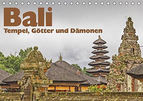 9783665127763: Bali - Tempel, Götter und Dämonen (Tischkalender 2017 DIN A5 quer): Sie schönsten Tempel der Insel der Götter (Monatskalender, 14 Seiten )