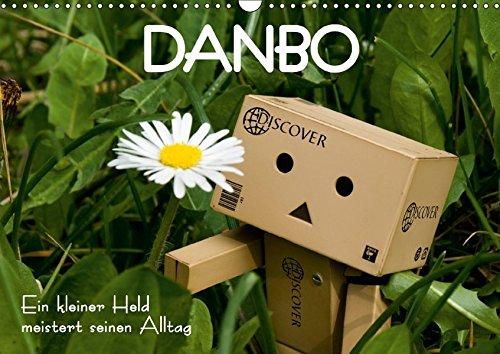 9783665128982: Danbo - Ein kleiner Held meistert seinen Alltag (Wandkalender 2017 DIN A3 quer): Ein kleines