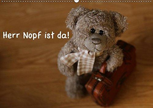 9783665143923: Herr Nopf ist da! (Wandkalender 2017 DIN A2 quer): Aus dem Leben eines Kuscheltiers - was Teddys erleben! (Monatskalender, 14 Seiten )