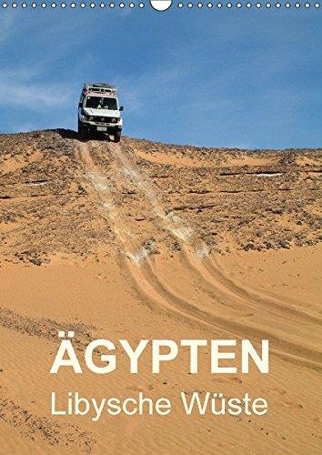 9783665156619: Ägypten - Libysche Wüste (Wandkalender 2017 DIN A3 hoch): Schwarz und Weiß in Ägyptens Westlicher Wüste (Monatskalender, 14 Seiten )