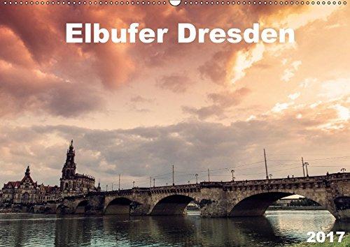 9783665158446: Elbufer Dresden 2017 (Wandkalender 2017 DIN A2 quer): Atemberaubende Lichtstimmungen am Dresdener Elbufer (Monatskalender, 14 Seiten )