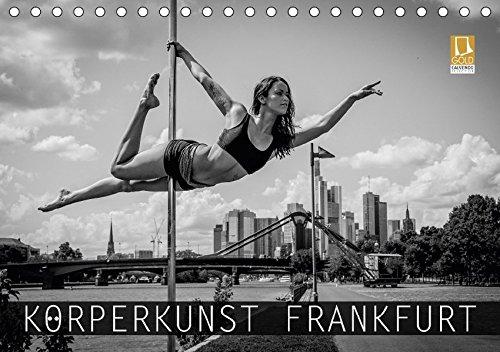 9783665161644: Körperkunst Frankfurt (Tischkalender 2017 DIN A5 quer): Ein Fotografie-Projekt über Sportler auf den Straßen Frankfurts. (Monatskalender, 14 Seiten )