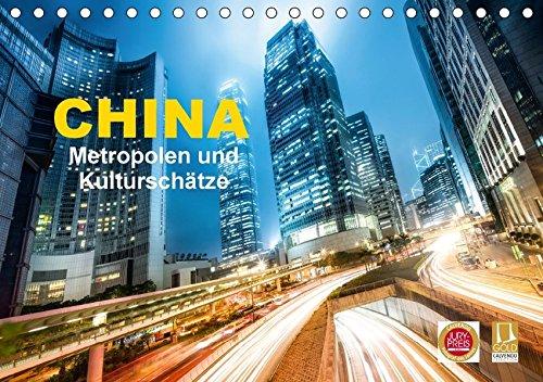 9783665163617: China - Metropolen und Kulturschätze (Tischkalender 2017 DIN A5 quer): Eine Bildreise für Chinaliebhaber (Monatskalender, 14 Seiten )