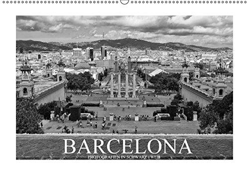 9783665166335: Barcelona Photografien in Schwarz / Weiß (Wandkalender 2017 DIN A2 quer): Einzigartige schwarz-weiß Bilder dieser wunderschönen Stadt (Monatskalender, 14 Seiten )