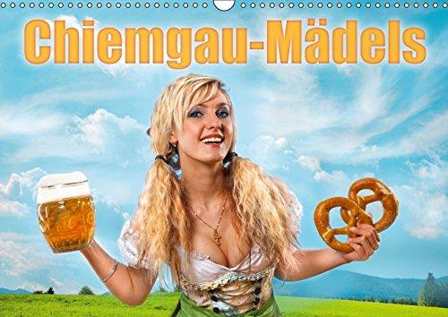 9783665182861: Chiemgau-Mädels (Wandkalender 2017 DIN A3 quer): Hübsche junge Frauen aus dem Chiemgau (Monatskalender, 14 Seiten)