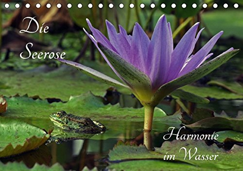 9783665191764: Die Seerose - Harmonie im Wasser (Tischkalender 2017 DIN A5 quer): Der Seelentröster (Geburtstagskalender, 14 Seiten )