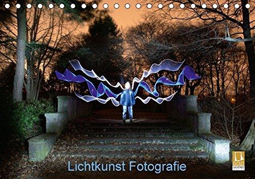 9783665192389: Lichtkunst Fotografie (Tischkalender 2017 DIN A5 quer): Kunstwerke aus Licht in Fotografien festgehalten. (Monatskalender, 14 Seiten )