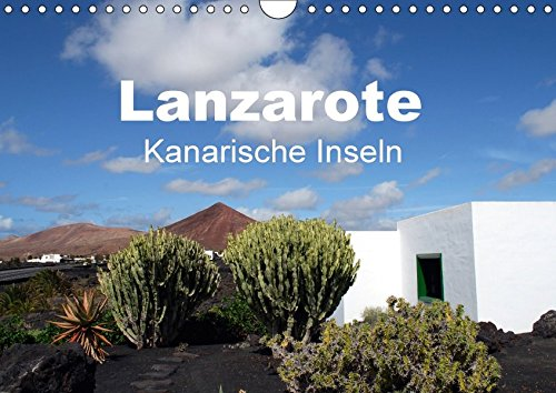 9783665194765: Lanzarote - Kanarische Inseln (Wandkalender 2017 DIN A4 quer): Traumhafte Ansichten (Monatskalender, 14 Seiten )