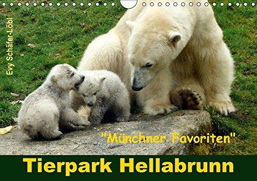 9783665199142: Tierpark Hellabrunn - Münchner Favoriten (Wandkalender 2017 DIN A4 quer): Streifzug durch den renommierten Münchner Tierpark Hellabrunn. (Monatskalender, 14 Seiten )