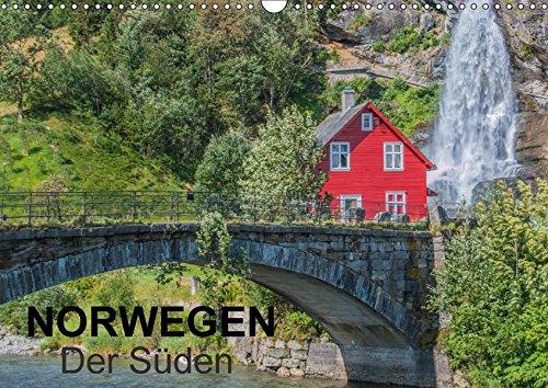 9783665208813: Norwegen - Der Süden (Wandkalender 2017 DIN A3 quer): Ein Kalender mit Fotografien aus dem südlichen Norwegen. (Monatskalender, 14 Seiten )