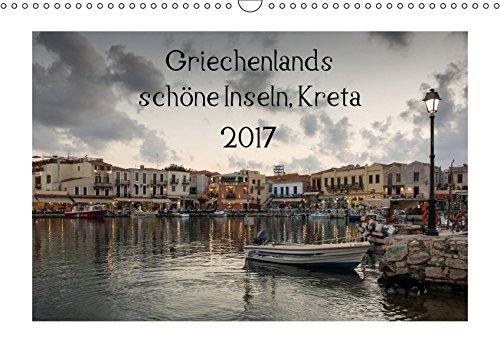 9783665208851: Griechenlands schöne Inseln, Kreta (Wandkalender 2017 DIN A3 quer): 14 schöne Bilder vom Westen Kretas. (Monatskalender, 14 Seiten )