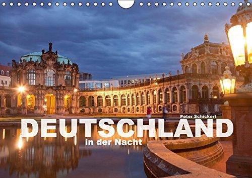 9783665214203: Deutschland in der Nacht (Wandkalender 2017 DIN A4 quer): 12 wunderbare nächtliche Ansichten aus den schönsten Städten Deutschlands (Monatskalender, 14 Seiten )