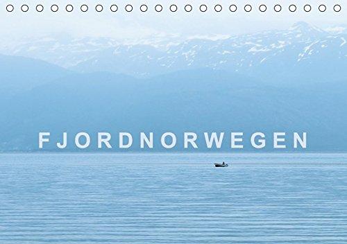 9783665223038: Norwegen - Fjordland (Tischkalender 2017 DIN A5 quer): Norwegen, der Süden und Fjordnorwegen (Monatskalender, 14 Seiten )