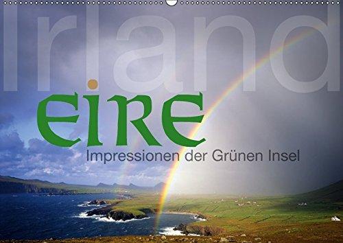 9783665224806: Irland/Eire - Impressionen der Grünen Insel (Wandkalender 2017 DIN A2 quer): Impressionen aus Irland (Monatskalender, 14 Seiten )