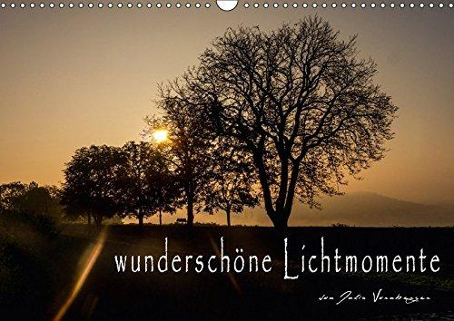 9783665226312: wunderschöne Lichtmomente (Wandkalender 2017 DIN A3 quer): Stimmungsvolle Bilder und die passenden Sinnsprüche begleiten Sie durch das ganze Jahr (Monatskalender, 14 Seiten)