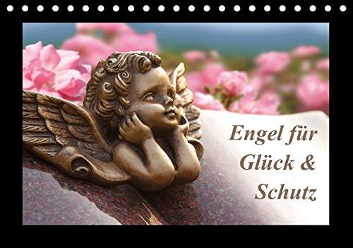 9783665237608: Engel für Glück & Schutz (Tischkalender 2017 DIN A5 quer): Botschaften für den Seelenfrieden. (Monatskalender, 14 Seiten )