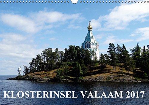 9783665238070: KLOSTERINSEL VALAAM 2017 (Wandkalender 2017 DIN A3 quer): Klosterinsel Valaam - Russlands