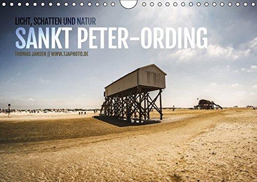 9783665245740: Licht, Schatten und Natur - Sankt Peter-Ording (Wandkalender 2017 DIN A4 quer): Licht, Schatten und Natur - Sankt Peter-Ording (Monatskalender, 14 Seiten )