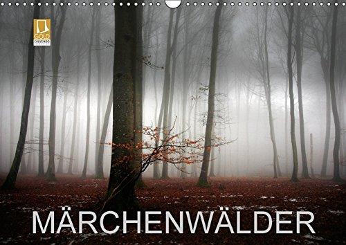 9783665248345: Märchenwälder (Wandkalender 2017 DIN A3 quer): Waldbilder der Schwäbischen Alb (Monatskalender, 14 Seiten )