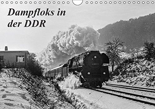 9783665259709: Dampfloks in der DDR (Wandkalender 2017 DIN A4 quer): Einige stimmungsvolle Aufnahmen vom planmäßigen Dampflokbetrieb um das Jahr 1980, in der DDR (Monatskalender, 14 Seiten )