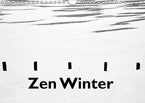 Zen Winter (Wandkalender 2017 DIN A4 quer): Georg Hörmann