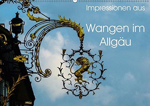 9783665265199: Impressionen aus Wangen im Allgäu (Wandkalender 2017 DIN A2 quer): Ein kleiner Rundgang durch Wangen im Allgäu (Monatskalender, 14 Seiten )