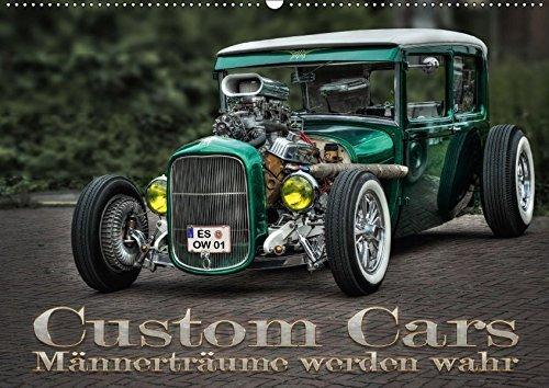 9783665269432: Custom Cars - Männerträume werden wahr (Wandkalender 2017 DIN A2 quer): Autos der besonderen Art (Monatskalender, 14 Seiten )