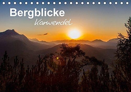 9783665275075: Bergblicke - Karwendel (Tischkalender 2017 DIN A5 quer): Das Karwendelgebirge im Herzen der Alpen (Monatskalender, 14 Seiten )