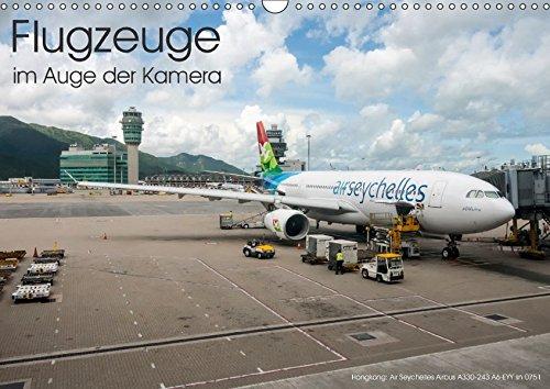 9783665275945: Flugzeuge im Auge der Kamera (Wandkalender 2017 DIN A3 quer): Flugzeuge in aller Welt im Auge der Kamera (Monatskalender, 14 Seiten )