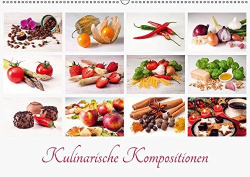 9783665282851: Kulinarische Kompositionen (Wandkalender 2017 DIN A2 quer): Eine ansprechende Präsentation verschiedener Lebensmittel appetitlich in Szene gesetzt (Monatskalender, 14 Seiten )