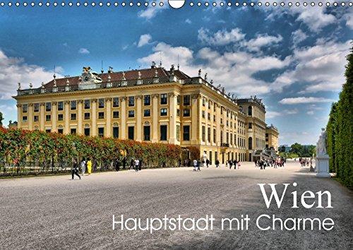 9783665288525: Wien - Haupstadt mit CharmeAT-Version (Wandkalender 2017 DIN A3 quer): 12 Impressionen einer bezaubernden Stadt (Monatskalender, 14 Seiten ) (CALVENDO Orte)