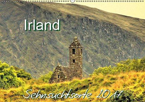 9783665297909: Irland - Sehnsuchtsorte 2017 (Wandkalender 2017 DIN A2 quer): Stimmungsvolle Bilder von der Grünen Insel (Monatskalender, 14 Seiten )