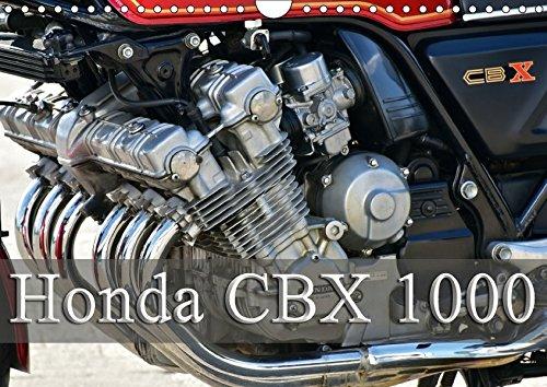 9783665299750: Honda CBX 1000 (Wandkalender 2017 DIN A4 quer): Ein Kraftpaket mit 6 Zylindern (Monatskalender, 14 Seiten )