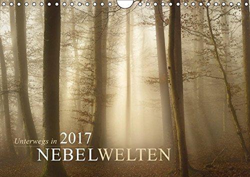 9783665302450: Unterwegs in Nebelwelten (Wandkalender 2017 DIN A4 quer): Unterwegs in zauberhaften Nebellandschaften (Monatskalender, 14 Seiten )