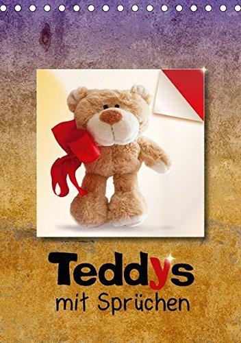 9783665303358: Teddys mit Sprüchen (Tischkalender 2017 DIN A5 hoch): Bärige Sprüche schenken Harmonie und Lebensfreude. (Monatskalender, 14 Seiten )
