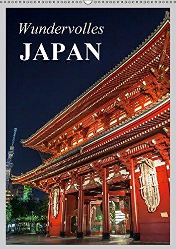 9783665308346: Wundervolles Japan (Wandkalender 2017 DIN A2 hoch): Eine Reise durch das Land des Lächelns (Planer, 14 Seiten)