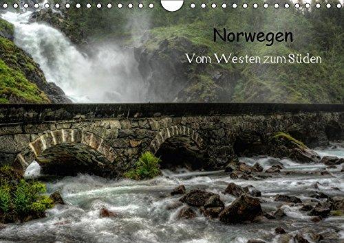 9783665313487: Norwegen - Vom Westen zum Süden (Wandkalender 2017 DIN A4 quer): Eine Reise vom Westen Norwegens zum Süden (Monatskalender, 14 Seiten )