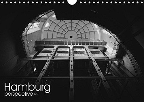 9783665319588: Hamburg perspective 2017 (Wandkalender 2017 DIN A4 quer): Schwarzweiß Kalender Hamburg City (Monatskalender, 14 Seiten )